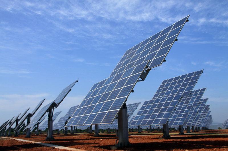 国家金太阳示范项目-2.59MW侧并网光伏电站